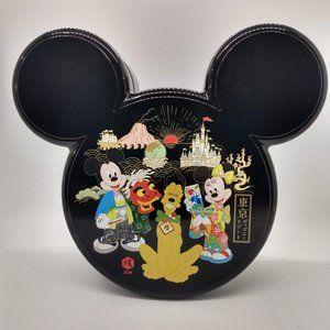 2018 DISNEY New Year A box Jūbako Tokyo Disney
